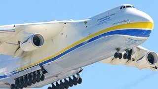 Antonov An 225 Mriya, World's Largest Cargo Plane, Lands In Hyderabad