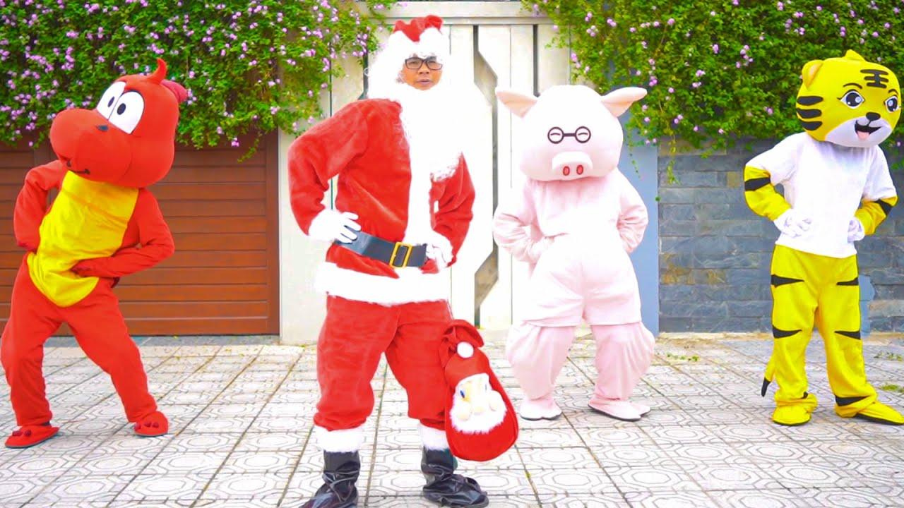 Tập Thể Dục Buổi Sáng Cùng Ông Già Noel - Nhạc Thiếu Nhi Vui Nhộn Cho Bé