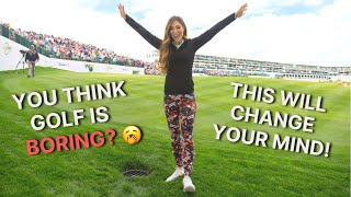 You think golf is boring? This will change your mind!