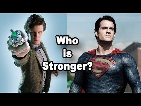Who is Stronger? Doctor Who VS Superman, Batmobile VS The TARDIS - Geek World Radio Ep.70