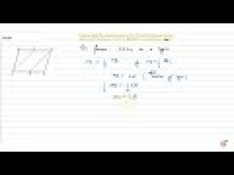In Figure, `A B C D` is a parallelogram and `X ,Y` are the mid=points of sides `A B` and `D C` ...