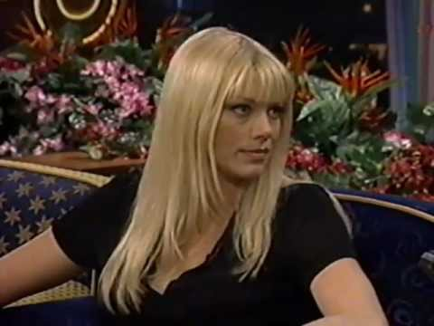 Peta Wilson on The Tonight  1997
