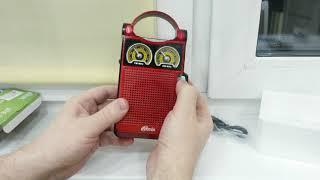 Обзор RITMIX RPR-303 радиоприёмник AM/FM/MP3