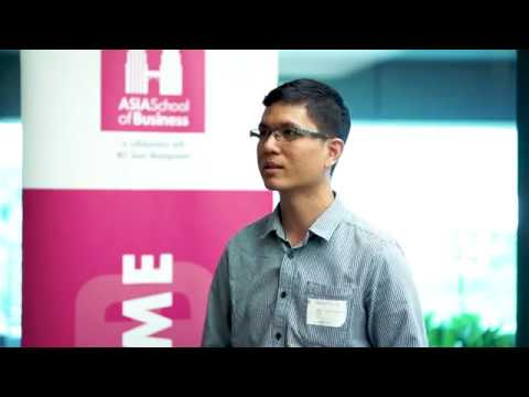 Asia School of Business Action Learning Symposium '18, Arus Academy Interview