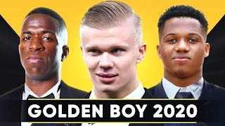 ГЛАВНЫЕ ФАВОРИТЫ НА GOLDEN BOY 2020 ЛУЧШИЕ МОЛОДЫЕ ТАЛАНТЫ ЕВРОПЫ GOAL24