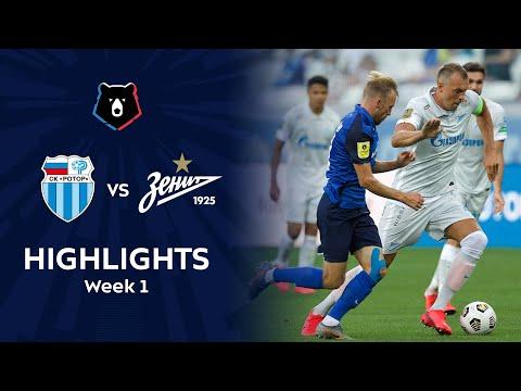 R. Volgograd Zenit Petersburg Goals And Highlights