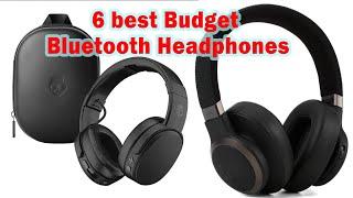 Top 6 best Budget Bluetooth Headphones in 2020 review