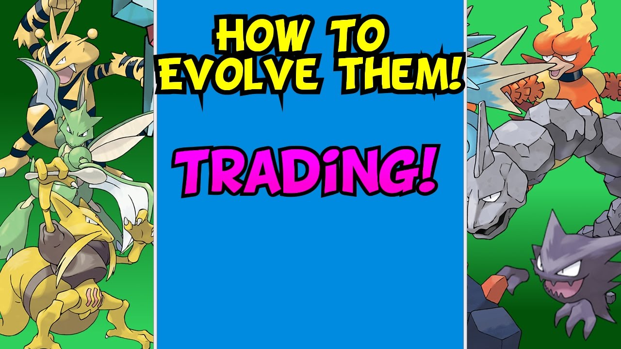 How To Evolve Pokemon That Need To Be Traded Pokemon Sun And