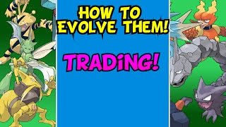How To Evolve! Pokemon That Need To Be Traded || Pokemon Sun And Moon
