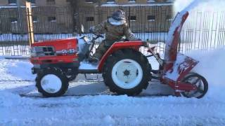 Трактор Kubota GL-25 with Snow Blower