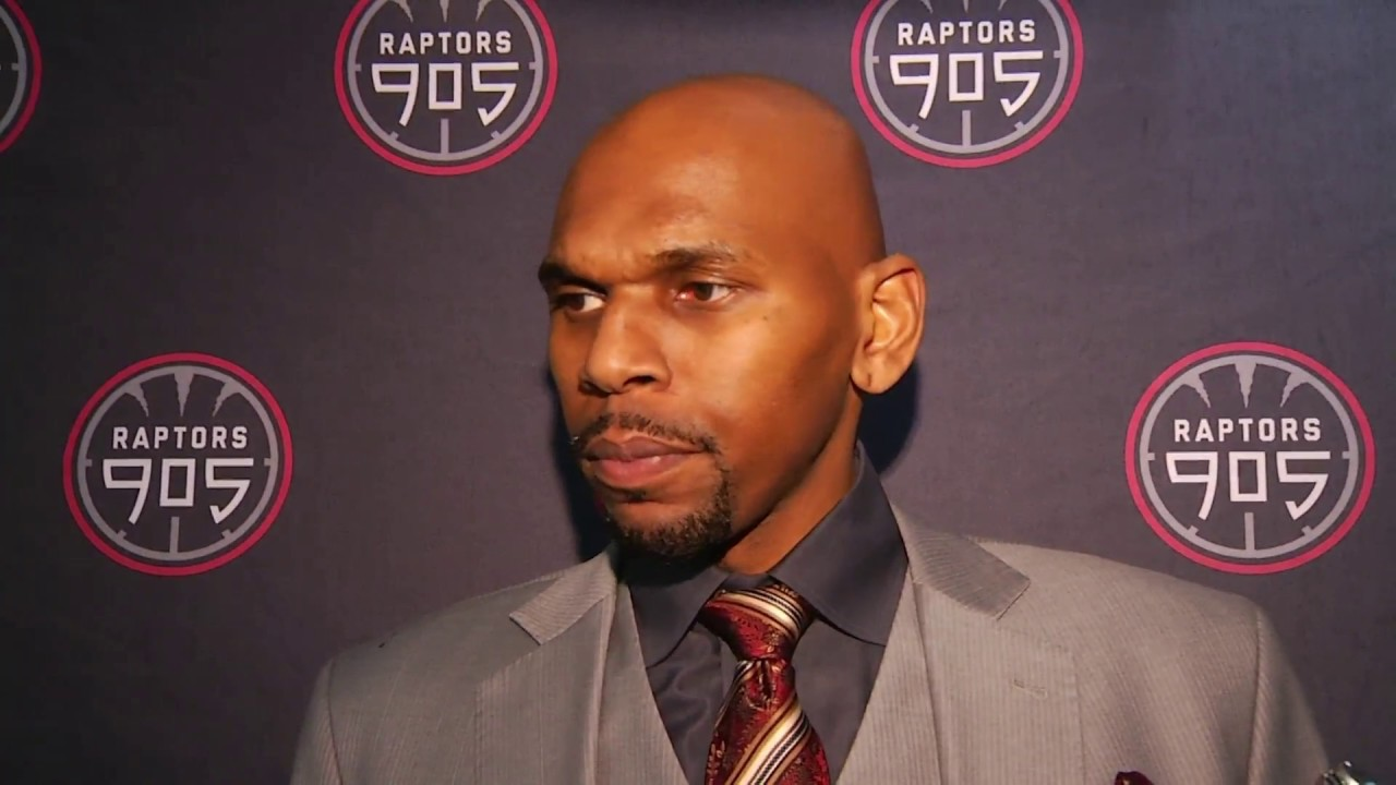 Raptors 905 Post Game Jerry Stackhouse February 14 2017