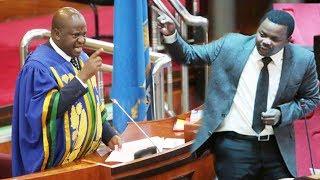 BreakingNews Mbunge Lema na Spika wa Bunge Job Ndugai wapambana tena