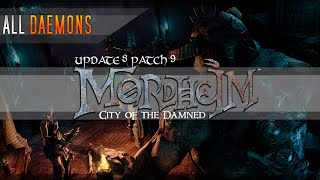 ALL Daemons (and a Chaos Ogre) in Mordheim: City of the Damned