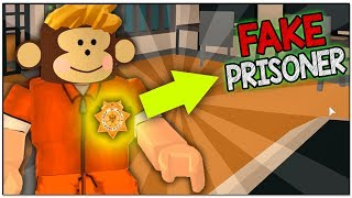 FAKE PRISONER TROLLING!! ( ROBLOX JAILBREAK )