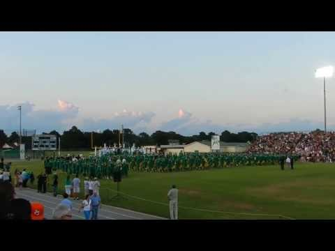 Choctawhatchee Senior High School Indians Class of 2013 Graduation Opening Ceremony 6-7-2013