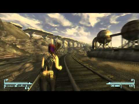 Fallout: New Vegas Snow Globe Location - Nellis Air Force Base