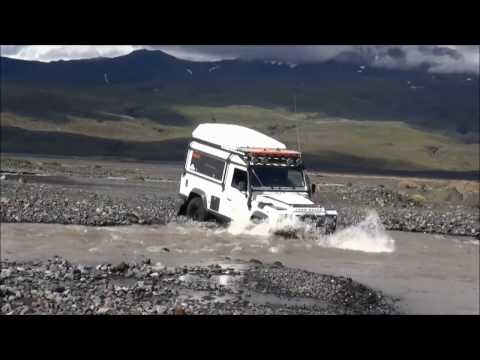 Land Rover Adventure Club: Iceland 2014  (Part 3) – Ice & Fire Expedition