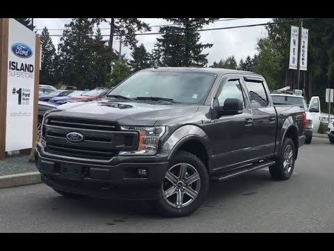 2018 Ford F-150 XLT FX4 Sport  Ecoboost V6 SuperCrew W/ Nav  Review|Island Ford