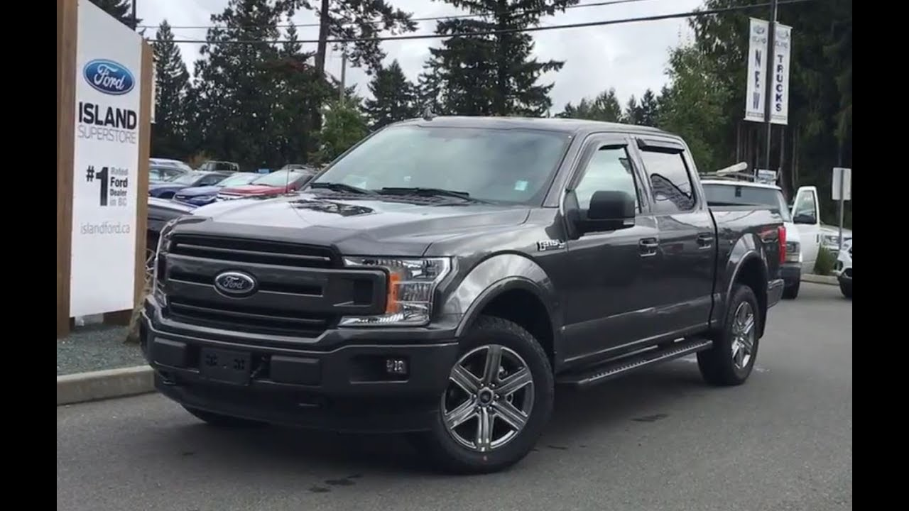 F150 Double Cab >> 2018 Ford F-150 XLT FX4 Sport Ecoboost V6 SuperCrew W/ Nav Review|Island Ford - YouTube
