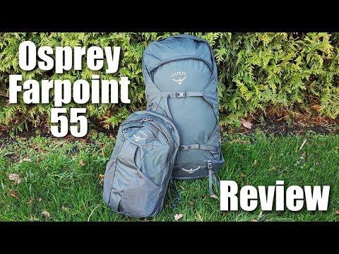 Wandering Blue Passports: OSPREY FARPOINT 55 Travel Bag!