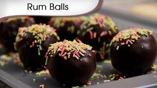 Chocolate Rum Balls - Sweet Chocolaty Dessert Recipe By Ruchi Bharani [HD]