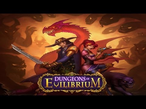 Dungeons of Evilibrium RPG -- Card Battle Strategy Game - Universal - HD Gameplay Trailer