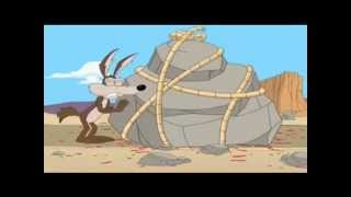 Willy il coyote -muori, bip bip, muori -cavalcade of comedy ita doppiaggio John North