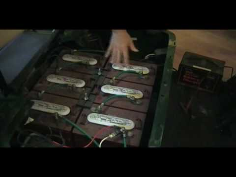 How to Charge Dead Golf Cart Batteries Manually  YouTube