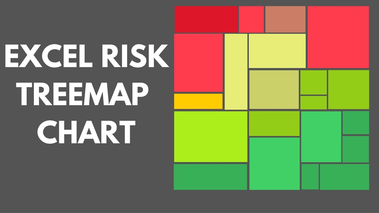 Excel Risk TreeMap Chart Excel Risk Dashboard YouTube - Create a graph in us map excel 2007