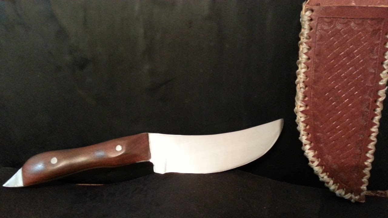 making a lawnmower blade knife youtube