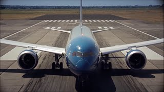 Boeing 787 Dreamliner flying display and how it