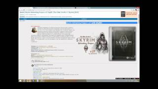 Skyrim вылетает при смене локации / сне / высоких текстурах(Skyrim Refreshing Project v.27 with SkyRE! http://rutracker.org/forum/viewtopic.php?t=4513326 Skyrim Script Extender (SKSE) http://skse.silverlock.org/ BOSS ..., 2015-01-12T19:50:22.000Z)