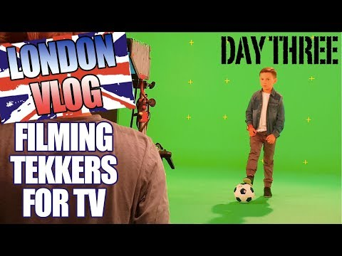 LONDON VLOG PART THREE | TEKKERS FOR TV