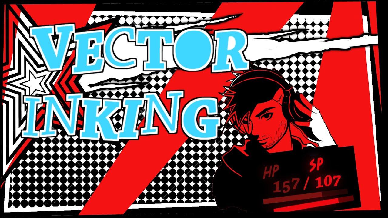 Manga Studio: Vector Ink Tutorial