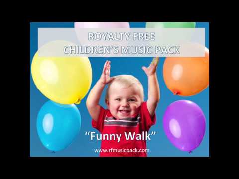 Royalty Free Music - 2015 Instrumental Background - Funny Walk