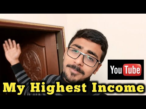 My Highest YouTube Income | Vlog | The HBA