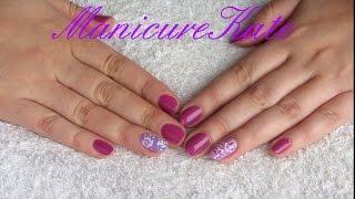 Маникюр с розами/ Розы/ Рисуем розы!(В этом видео вы увидите идею маникюра, как нарисовать розы на ногтях в домашних условиях., 2015-10-31T07:13:46.000Z)