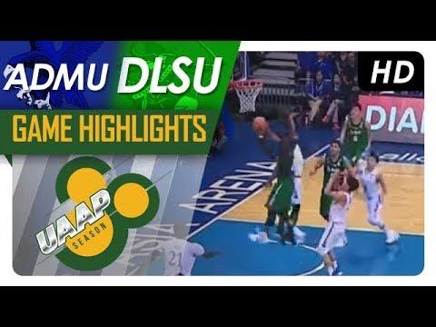 ADMU vs. DLSU | Game Highlights | UAAP 80 Men's Basketball | October 8, 2017