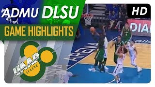 ADMU vs. DLSU | Game Highlights | UAAP 80 Men's Basketball | October 8, 2017