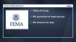 Verify: Can I get a high-paying FEMA job?