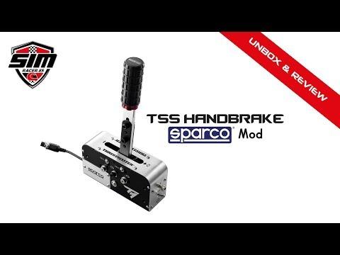 Review Thrustmaster TSS Handbrake Sparco MOD | simRacer es