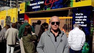 Аргентина. Виставка продуктів регіону Кужо (Cuyo).