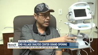 End Village Dialysis Center grand opening - Medical Minute