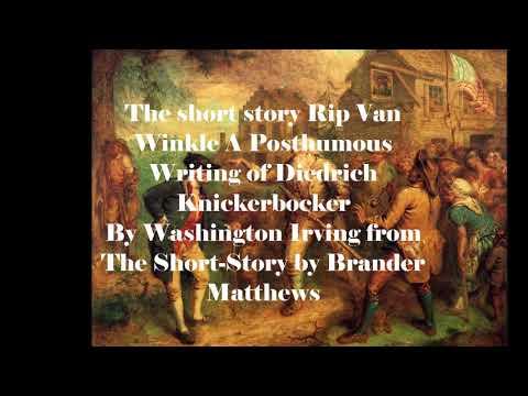 an analysis of washington irvings rip van winkle