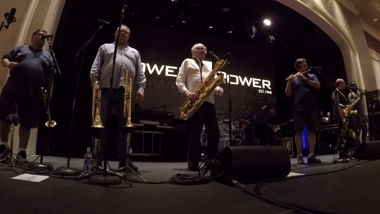 Tower of Power Sound Check August 2018: Sparkling in the Sand