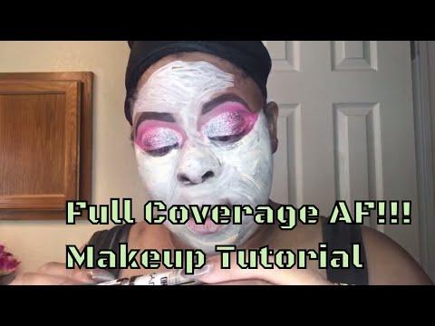 Pink fail makeup Mesha method feat Nyx  Studio Concealer