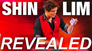 Shin Lim: Penn and Teller Fool Us Card Trick REVEALED