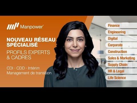 Interview recrutement : Manpower lance Experts & Cadres, nouveau réseau dagences spécialisées