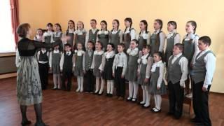 690  Хор школы искусств пос  Савино  В Серебренникова Давайте сохраним