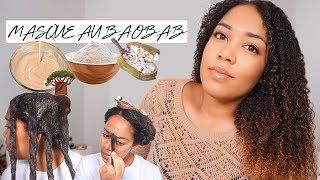 MASQUE AU BAOBAB | 100% hydratation